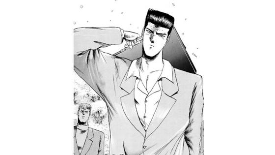漫画版 弾幕 龍二