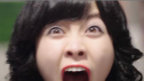 橋本環奈の変顔