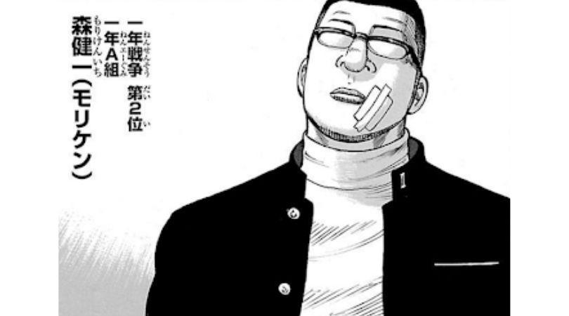 漫画WORST登場人物〜森健一(モリケン)〜