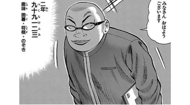 漫画WORST登場人物〜九十九一二三〜