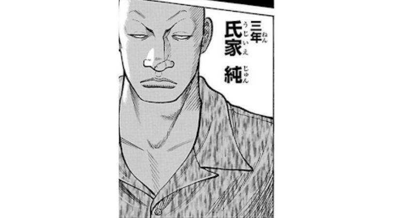 漫画WORST登場人物〜氏家純〜