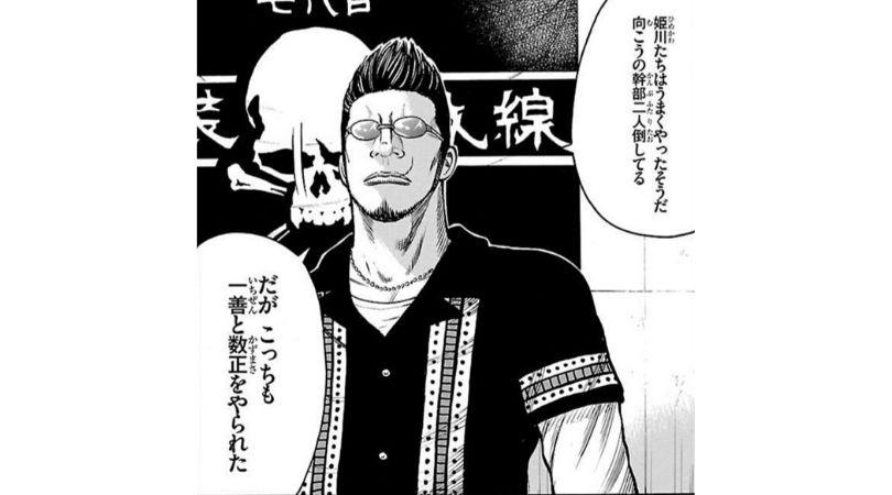 漫画WORST登場人物〜金 亨寛〜