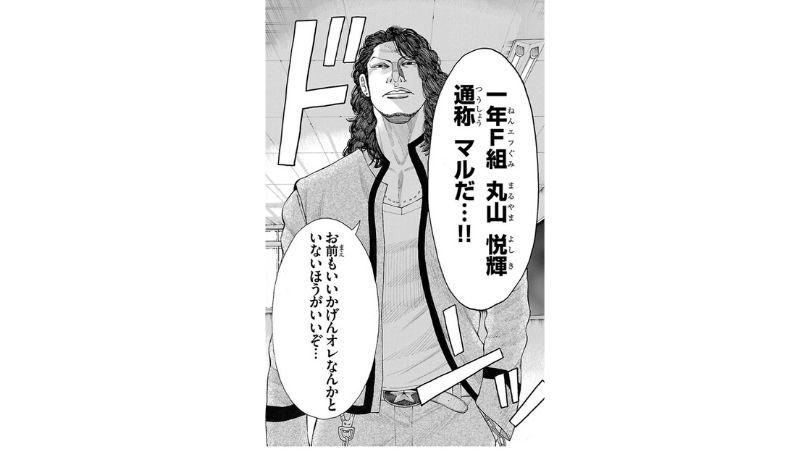 鳳仙学園登場人物〜丸山 悦輝(マル/クローズ外伝より)〜