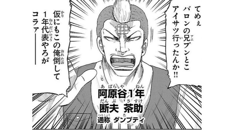 「WORST外伝 グリコ」登場人物〜断夫 茶助〜